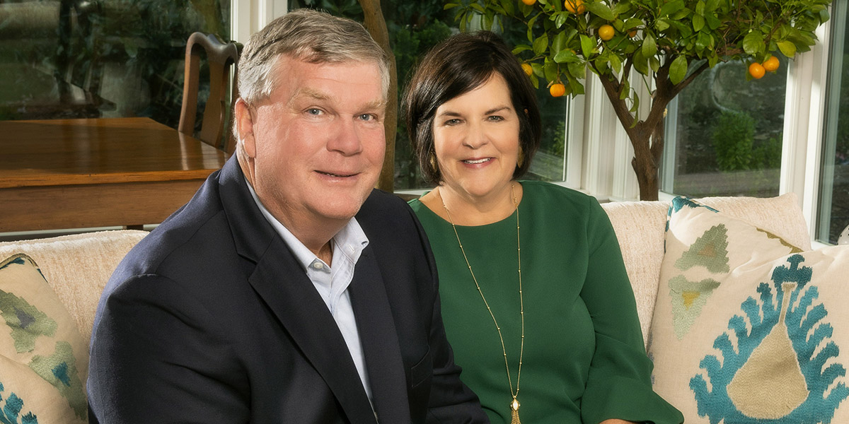 Commitment to community: Liza and Byrd Miller